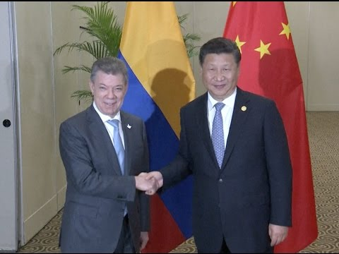 Chinese President Xi Says China Supports Colombia's Peace Process