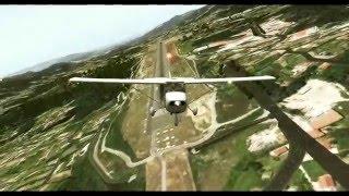 X Plane 10 - Volando con amigos IVAO | ILS CAT-II [1080p]