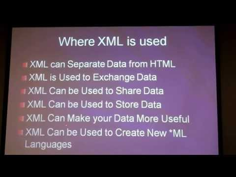 XML Tutorial for beginners video. Learn XML basics programming tutorial. How to create XML file