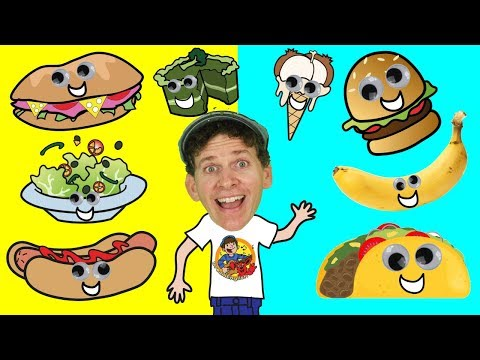 What Do You Want To Eat? Song for Kids  Food Song  Learn English Kids