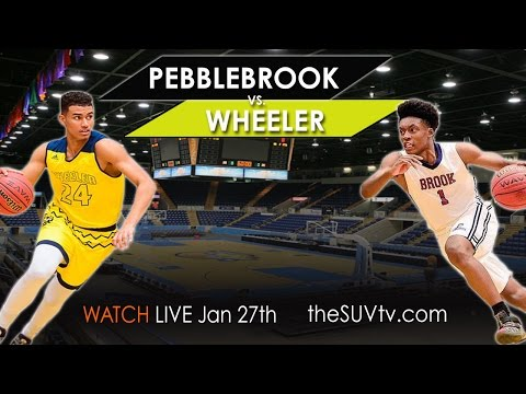 SUVtv Featured Game: Pebblebrook vs. Wheeler - Collin Sexton Jordan Usher EJ Montgomery Darius Perry
