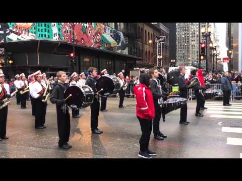 Tinley Park High School Marching Band - McDonald's Thanksgiving Day Parade, Chicago, IL