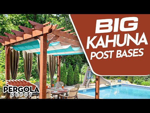 How To Install Post Bases for Big Kahuna Pergoa Kit