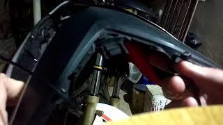 Como colocar carenagem farol CB 600F Hornet na CB 300R.