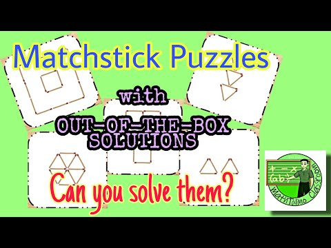 Matchstick Puzzles with
