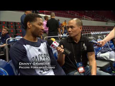 All-Access NBA Global Games:  Indiana Pacers in Manila
