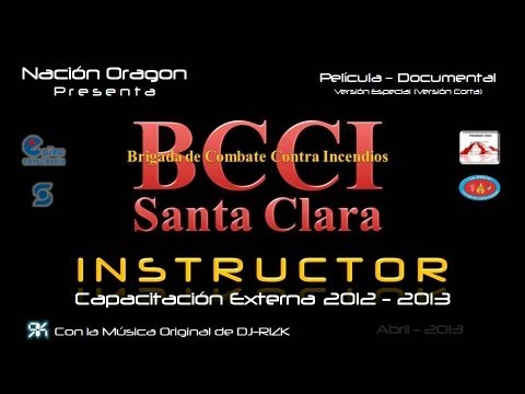 Brigada de combate contra incendios 2012 – 2013 «instructor»