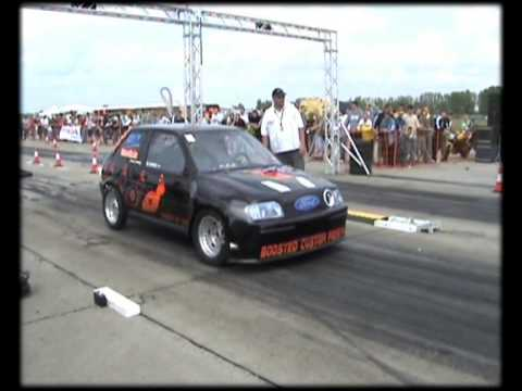 ford fiesta dragster