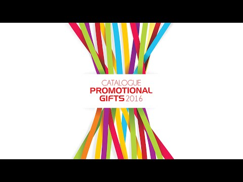 Catalogue Promotional Gifts 2016