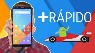 Cómo el RAYO ⚡¡10 consejos para hacer tu móvil ANDROID más RÁPIDO!