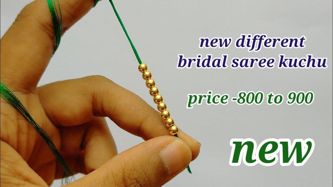 ಸೀರೆ ಕುಚ್ಚು# 133. #bridal #Sareekuchu videos  for beginners .learn #withme jaya
