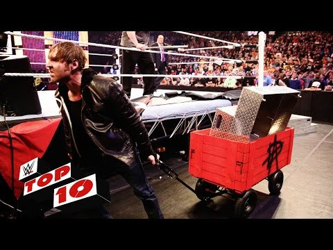 Top 10 Raw moments: WWE Top 10, March 28, 2016