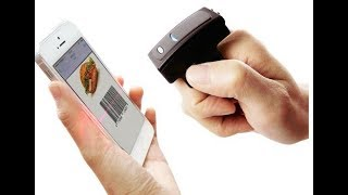 Ring Barcode Scanner w/ Built-in Bluetooth 4.1 Low Energy (LE) / BLE