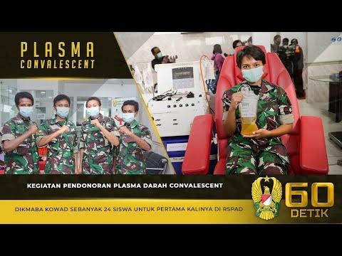 Kegiatan Pendonoran Plasma Darah Convalescent Dikmaba Kowad di RSPAD