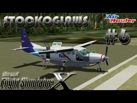 Lets Play FSX - Air Hauler Add on - Episode 6 (Off to Lyon - I'm not drunk , just merry   ! )