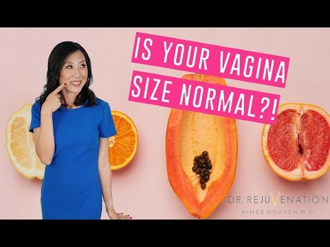IS MY VAGINA A NORMAL SIZE?! Girl Talk with Dr. Rejuvenation