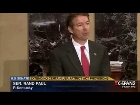 Rand Paul On NSA Spying And The Patriot Act