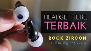 Headset Gaming Murah Terbaik [REVIEW Rock Zircon]