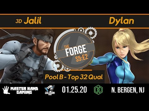 The Forge S5:E2 - 3D | Jalil (Snake) Vs. Dylan (Zero Suit, Robin) - Pool B - W Top 32 Qualifiers