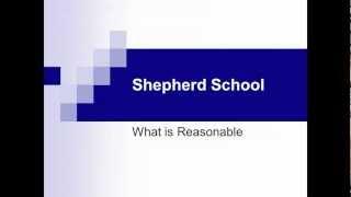 What is Reasonable
