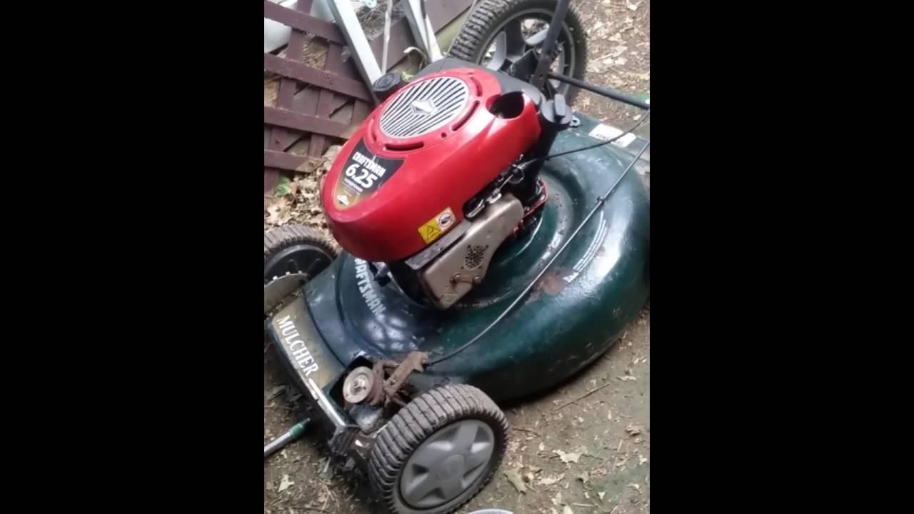 Rebuild Lawnmower Engine