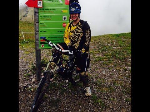 Vélo  descente à leysin Suisse (19.09.2015)
