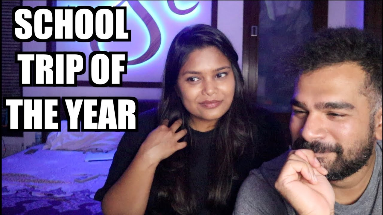 SCHOOL TRIP OF THE YEAR CARRYMINATI REACTION | THES2LIFE | COUPLE REACTS