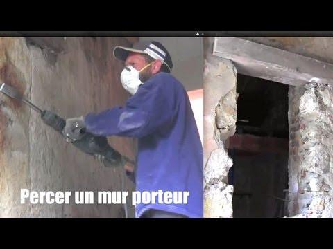 mur-porteur,-percer-un-mur,-how-to-drill-a-bearing-wall-to-put-a-door
