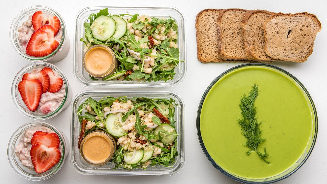 Healthy Vegan Meal Prep (Spring-Inspired)
