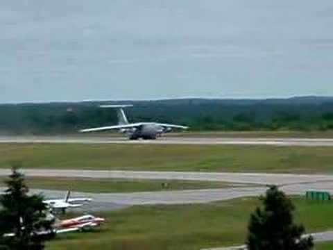 Indian Air Force IL-76 Takeoff