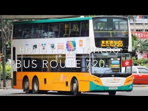 Hong Kong Tavilog - Bus Route 720 - YouTube