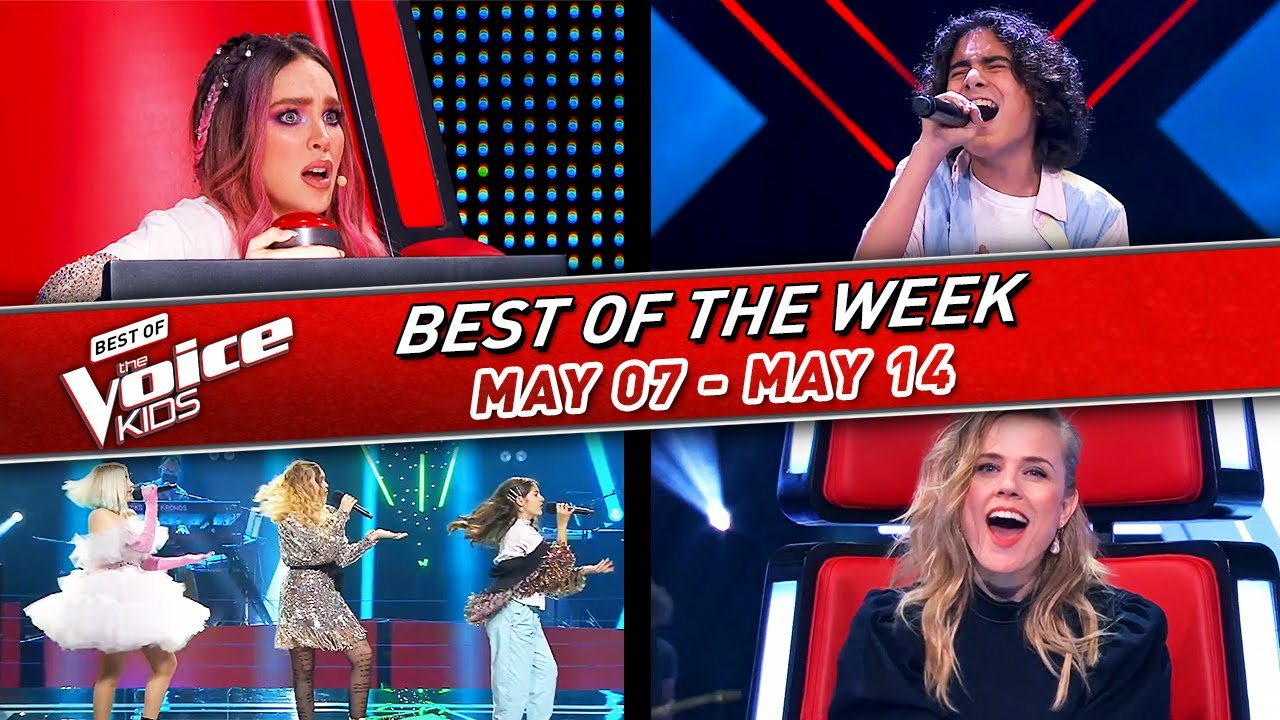 😍The BEST of the WEEK in The Voice Kids #8! | 📆May 07 - May 14 2021