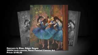 Famous Oil Painting Masterpieces of Edgar Degas -  Amazing Artwork Reproductions for Sale