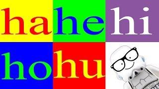Aprender a Leer 35 – Sílabas ha he hi ho hu – La Letra h - Canal Block 6