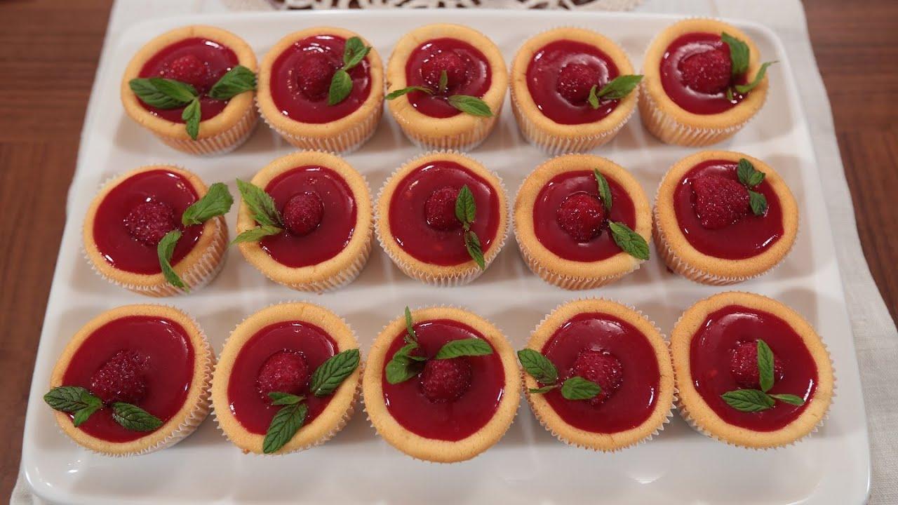 Frambuazlı Cheesecake Yapılışı Videosu