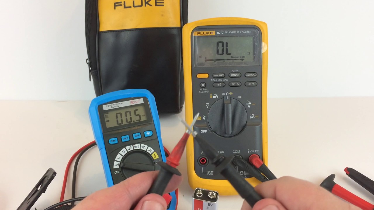 Fluke 87v True Rms Multimeter Demo For Ebay Youtube