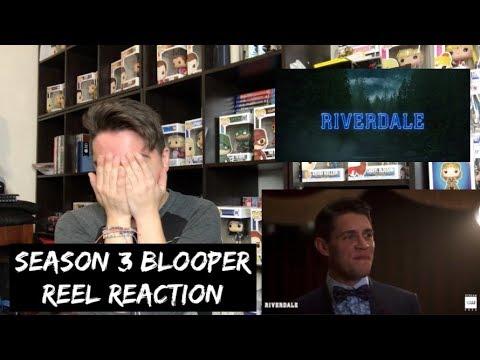 RIVERDALE - SEASON 3 BLOOPER REEL REACTION