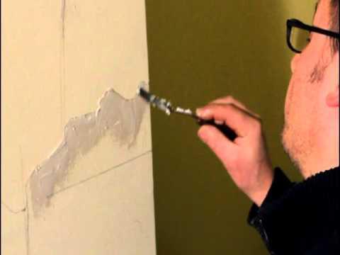 Come creare quadro con pittura in rilievo - Effetto rialzato - YouTube