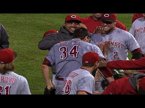 CIN@PIT: Bailey completes no-hitter against Pirates