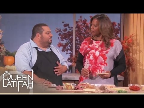 Chef Eric Greenspan's Grilled Cheese 3 Ways! | The Queen Latifah Show