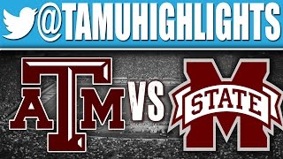 Texas A&M Highlights vs Mississippi State 10-04-2014 ᴴᴰ