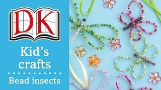 Fun Kids' Craft: How To Make Bead Insects