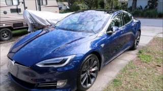 2016 TESLA MODEL S P100D LUDACRIS MODE DETAIL