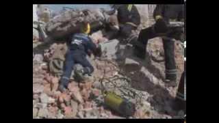 видео Как себя вести в случае обрушения здания?