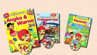 """Buku anak Indonesia """"Buku aktivitas ceria"""" bersama teman kecil - gramedia"""