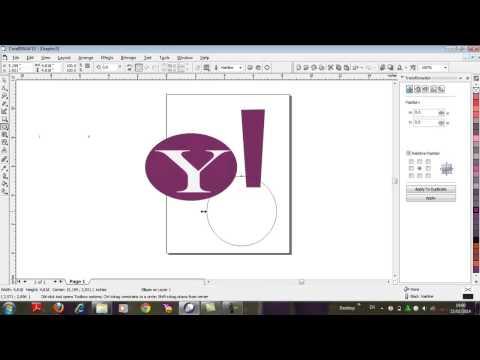 tutorial membuat logo yahoo messanger