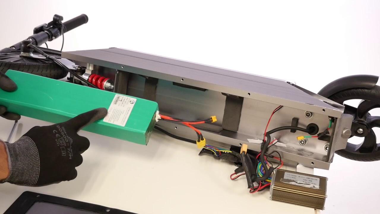 Comment changer la batterie sur une trottite électrique