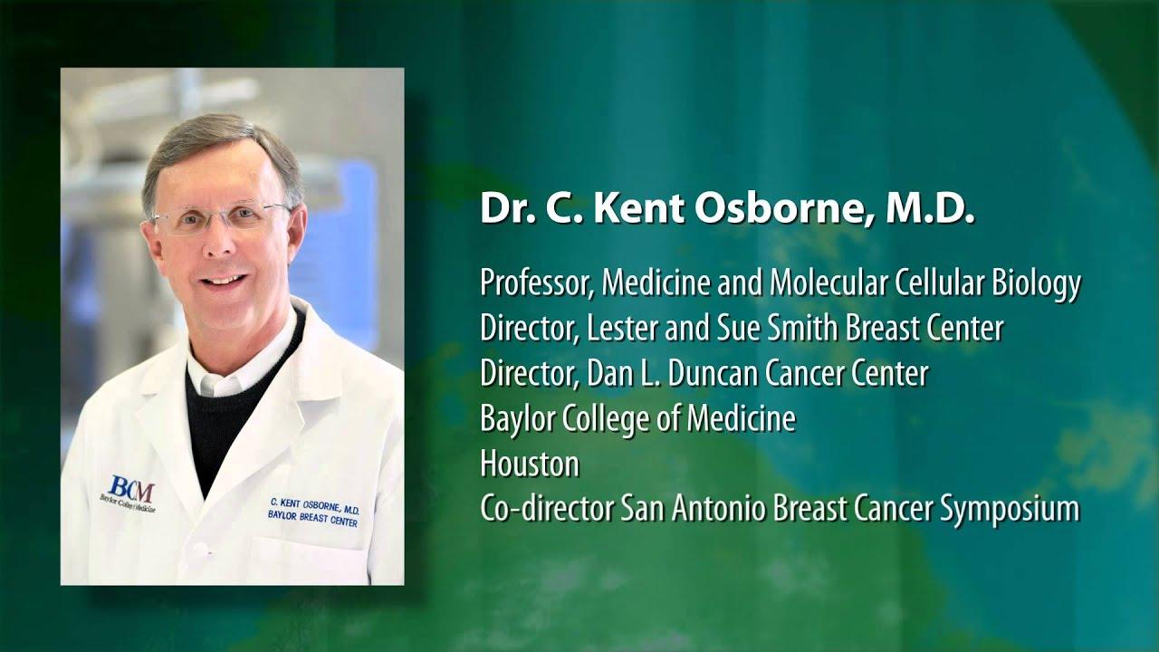 Dr  C  Kent Osborne Previews the San Antonio Breast Cancer