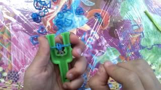 Как плести браслет цепочка(1 видеоурок)