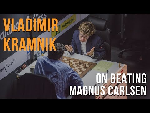Vladimir Kramnik On Beating Magnus Carlsen at Norway Chess